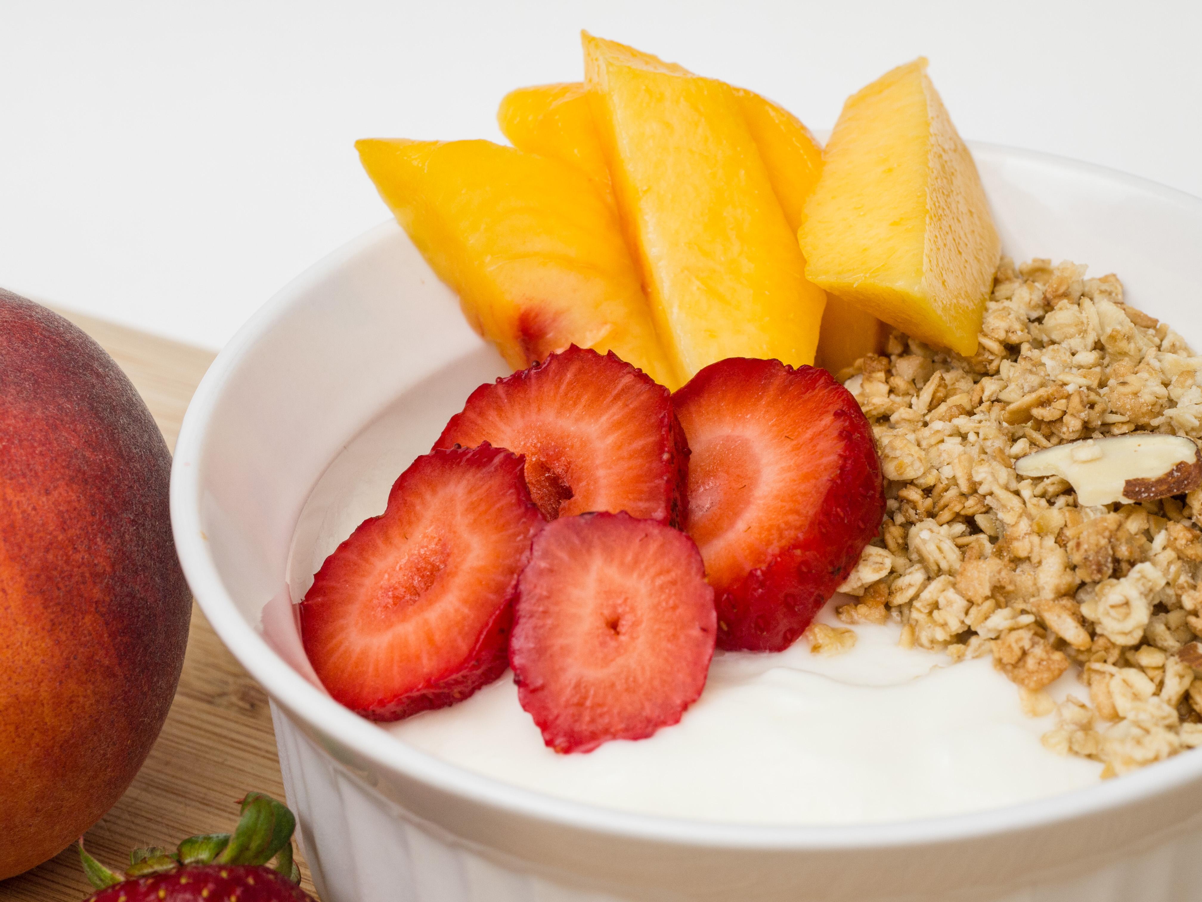 Yogurt with Fruit & Granola