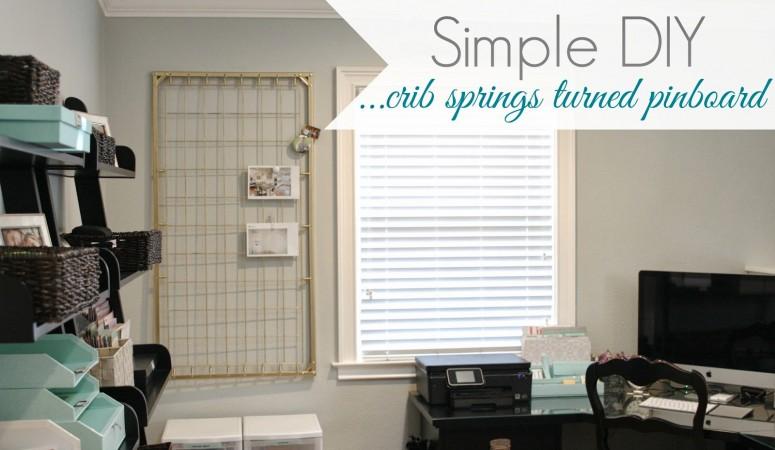 Repurpose Crib Springs