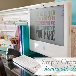 Kitchen Pantry Organizer Island Wayfair Organized Homework Station - Simply