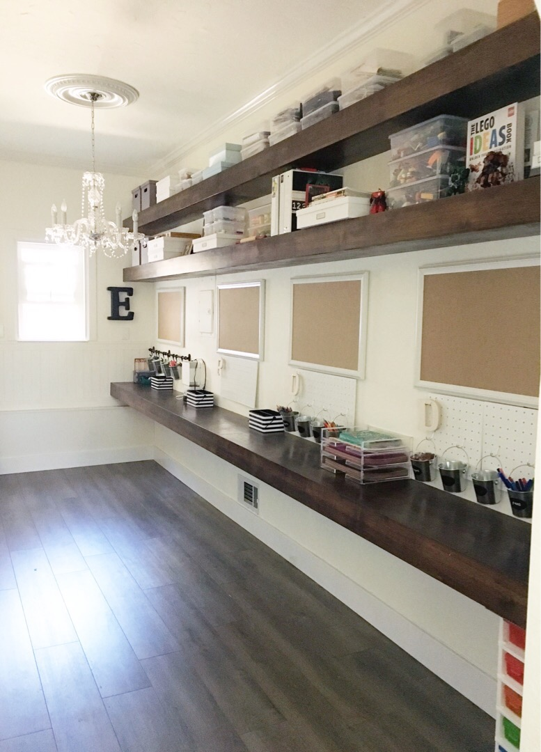 how to organize my kitchen cupboard installation simply done: an incredible diy homework & craft room ...