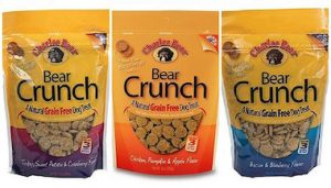 Buy Bear Crunch holiday pet treats for your dog