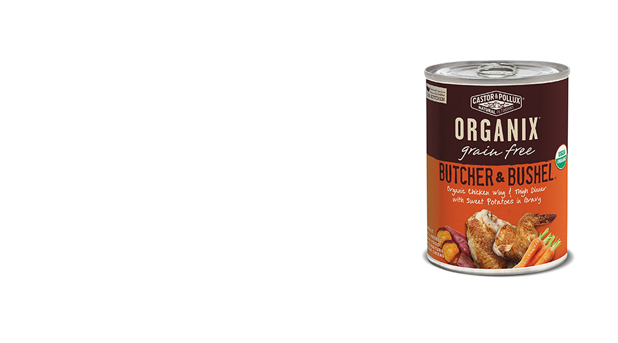Castor Pollux Organix Butcher Bushel Grain Free Organic Canned