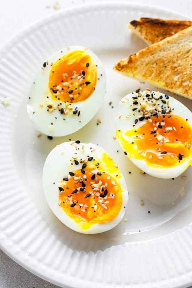 The Best Soft Boiled Eggs