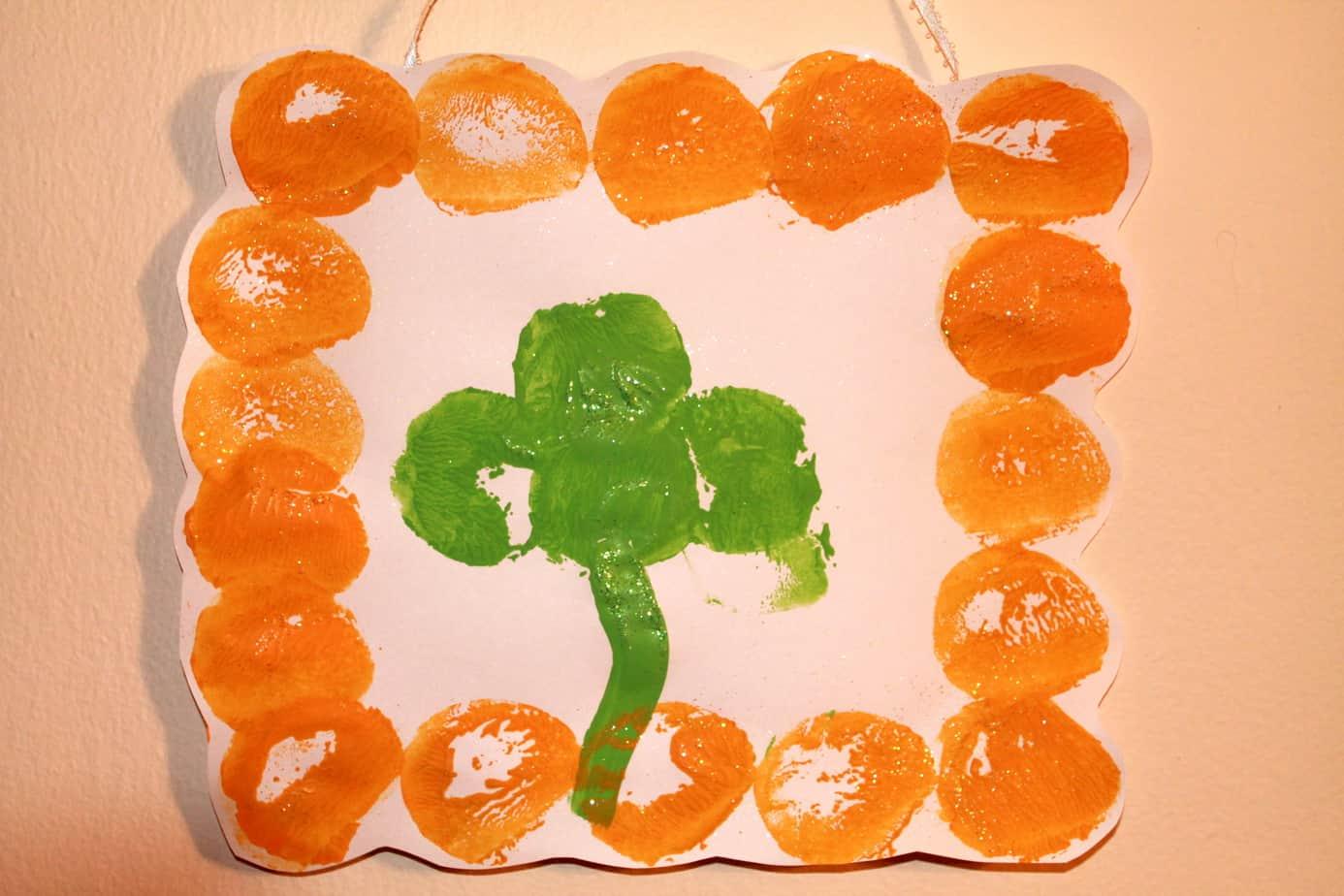 St Patrick S Day Craft Shamrock Prints
