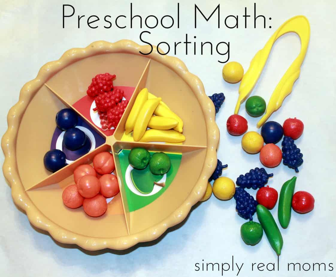 Preschool Math Series This Article Sorting Love The