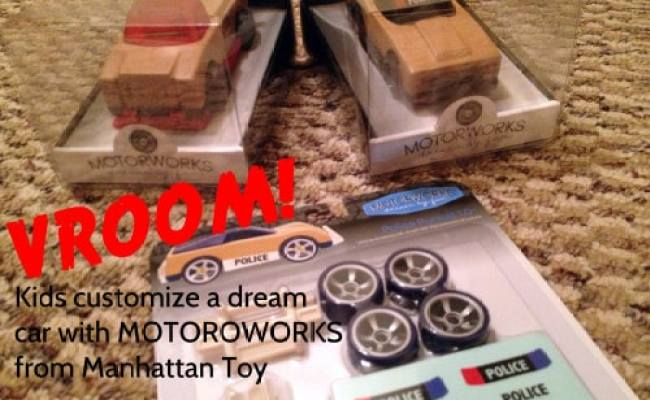 Vroom Kids Customize A Dream Car With Motorworks From