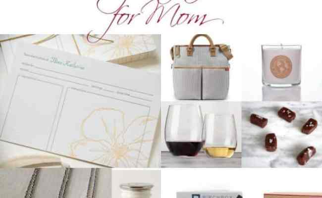 2013 Holiday Gift Guide Gifts For Moms