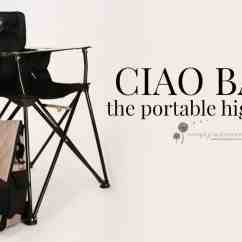 Portable High Chair Baby Kaleigh Twin Sleeper Bed Ciao The 5
