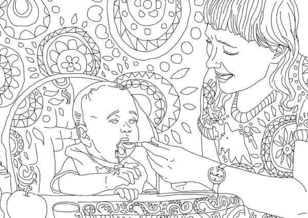 Friday Finds: The Best Adult Coloring Book For Moms