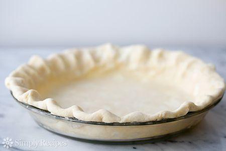All Butter Pie Crust Recipe Pate Brisee