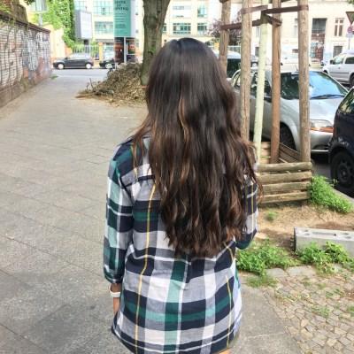 How I Maintain My Wavy Permed Hair
