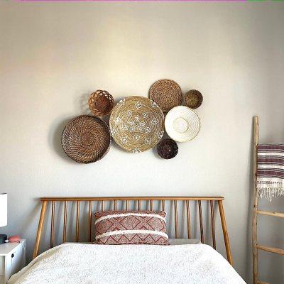 DIY Basket Wall