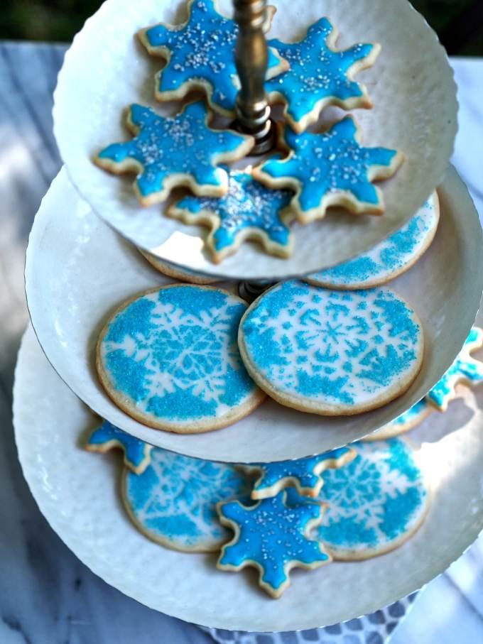 53. Snowflake Cookies | Simply Sated