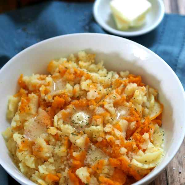 Sweet Gold Mashed Potatoes Simply Sated