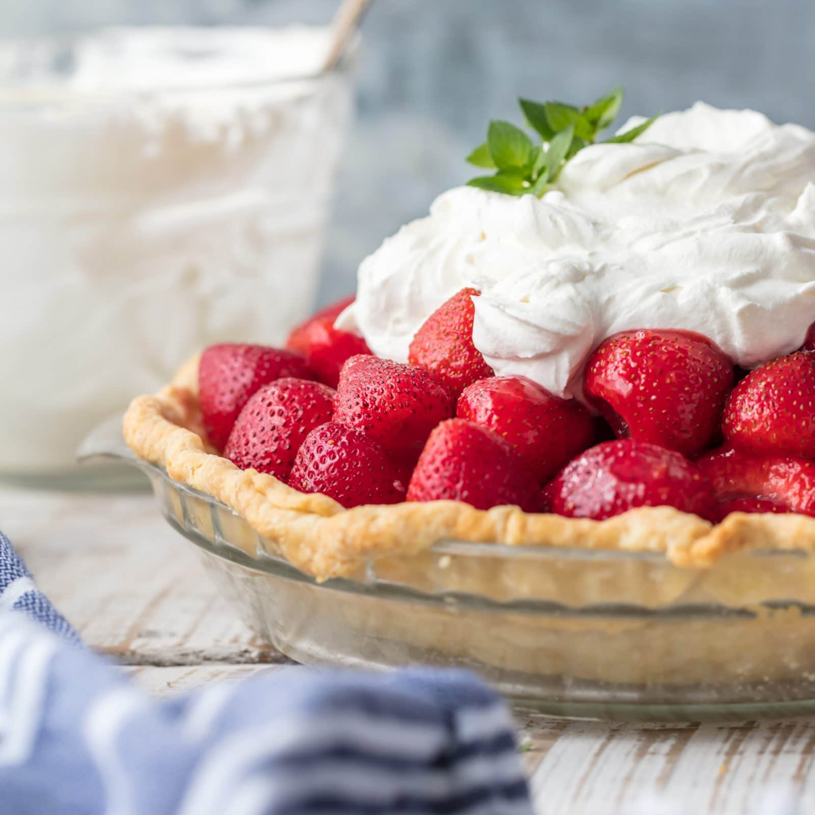 Fresh Strawberry Pie Simply Sated