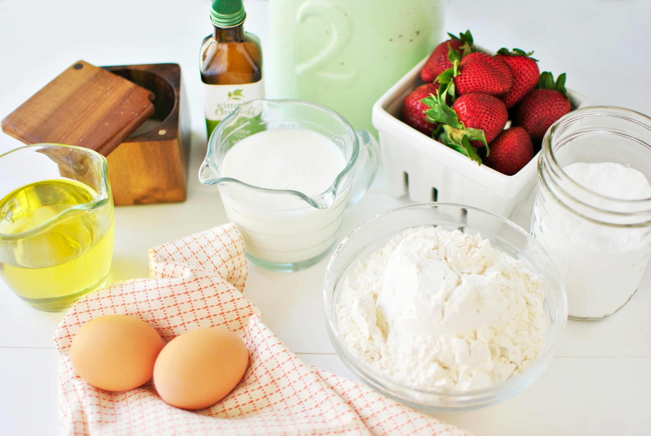 Buttermilk Cake Doughnuts With Fresh Strawberry Glaze