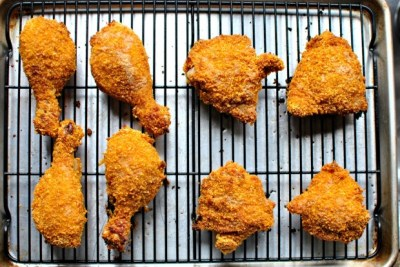 Simply Scratch Oven Fried Buttermilk Chicken - Simply Scratch