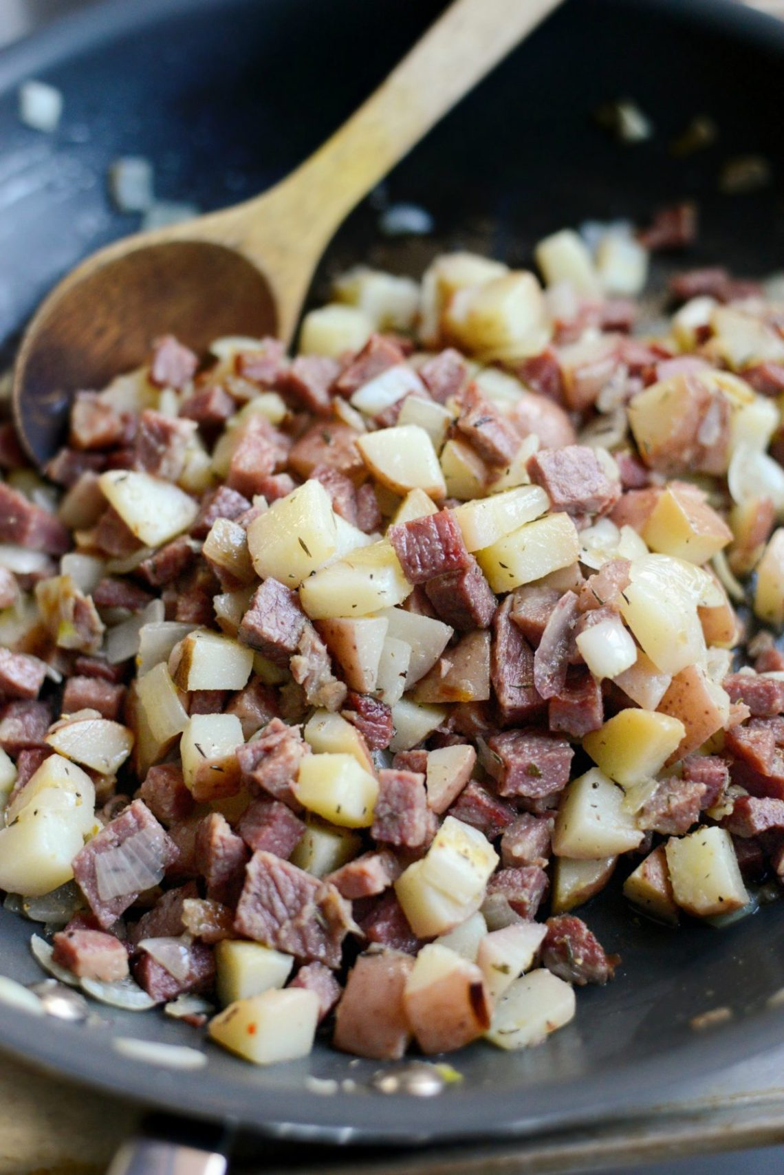 Simply Scratch Easy Homemade Corned Beef Hash - Simply Scratch