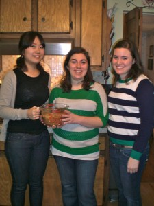 Jaewon, Me, and Laura
