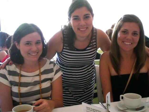 High Tea with my sisters!