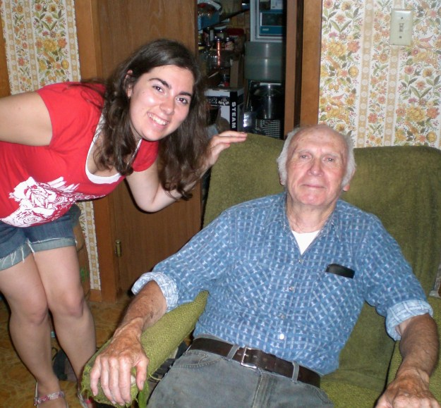 Me with my Grandfather!