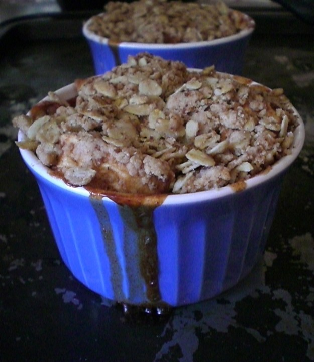 Apple Crisp For Two! | Simply Scrumptious by Sarah