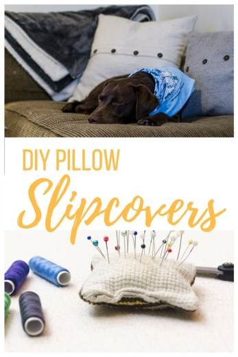 diy pillow, diy pillow slipcover, diy slipcover, sewing pillows, sew pillow, sewing slipcovers for pillows, how to sew a pillow slipcovers, how to sew a pillow, throw pillows, making a throw pillow