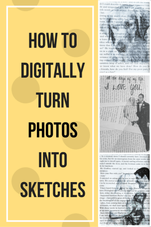 how to print photo art on book pages tutorial, print photo art, photo art, printing art, printing on book pages, art on book pages, book pages art, book, book art, turning photos into sketches, tutorial, computer tutorial, diy decor, microsoft publisher