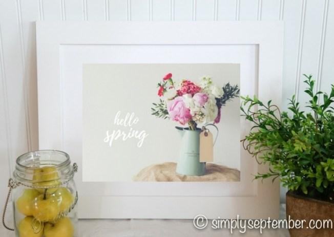 spring has sprung, spring printables, spring printable, spring, spring quotes, free printables, free printable, diy decor, spring decor