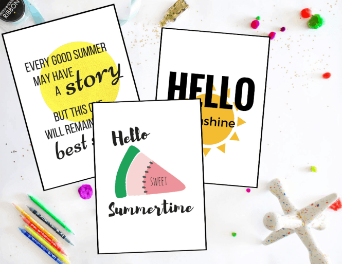 This is an image of Insane Have a Sweet Summer Printable