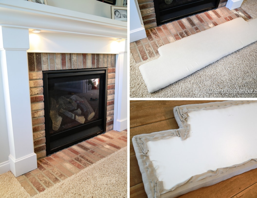 how to baby proof a fireplace diy hearth cushion simply september rh simplyseptember com how to childproof a fireplace how to babyproof a fireplace