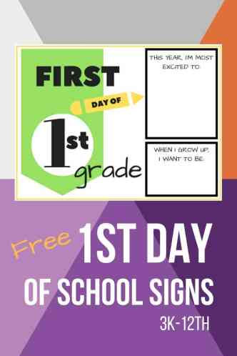 First Day Of School Signs Free Printables  Simply September. Van Dodge Murals. Patient Privacy Signs. Team Stickers. Political Murals. Compuer Logo. Magic Mirror Logo. Cool Car Window Stickers. Medieval Logo