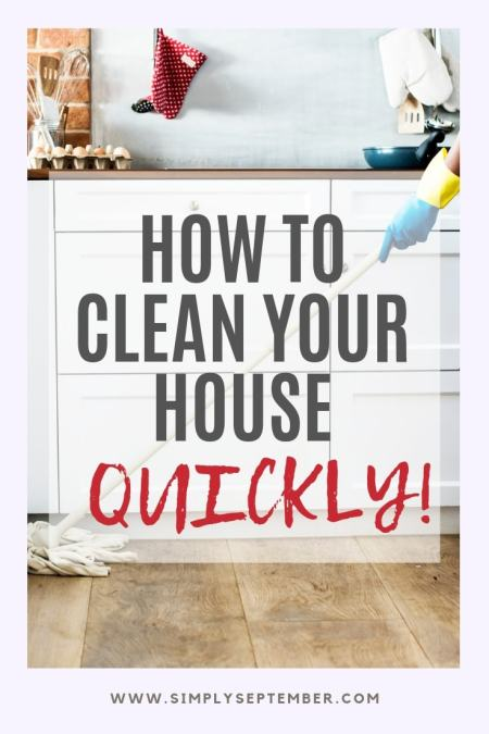 Expecting Guests How To Clean House Fast In Under 10 Minutes