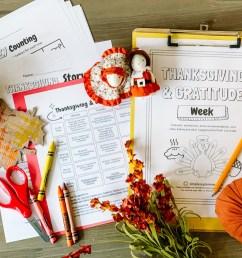 Thanksgiving \u0026 Gratitude Week(s): PreK-1st Grade Themed Resources - Simply  September [ 975 x 1300 Pixel ]