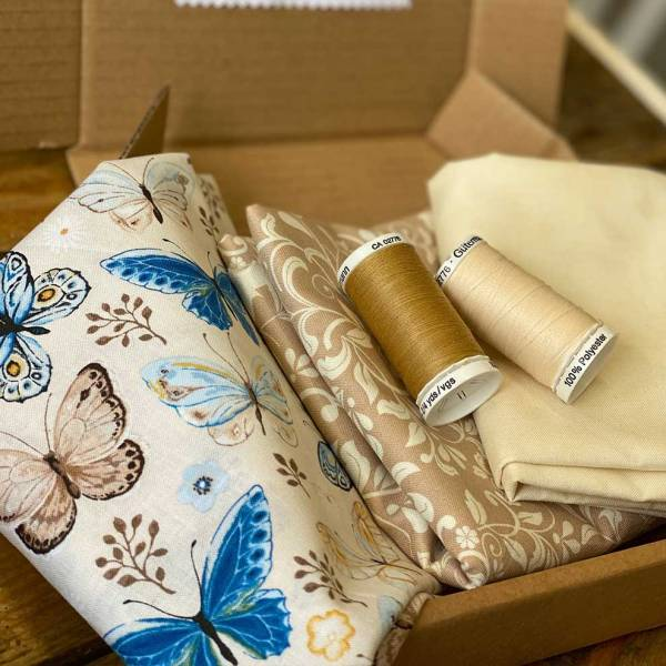 Large Deluxe Fabric and Sewing Subscription Box