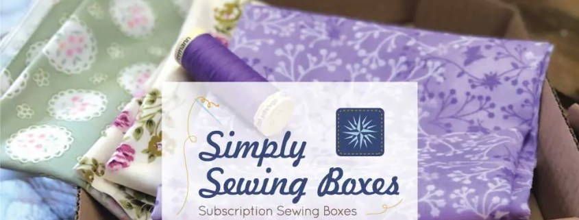 Simply Sewing Boxes Website Launch