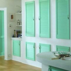 Kitchen Cabinet Storage Handles Interior Louvre Doors | Louvered ...