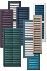 Window Shutters, Exterior & External Shutters, Plastic ...