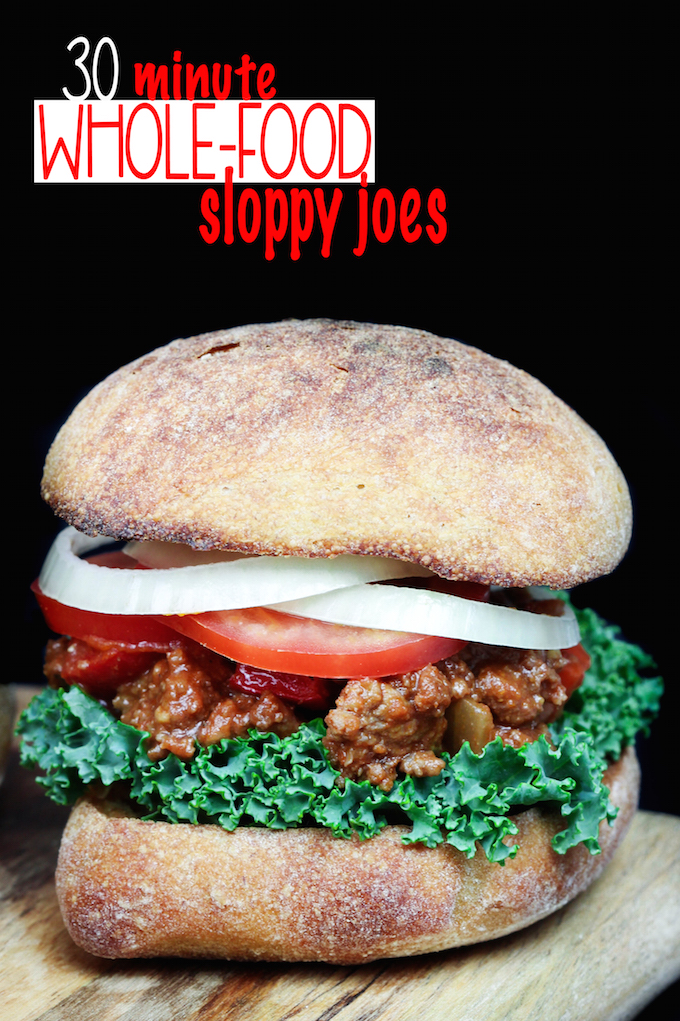 Whole Food Sloppy Joes