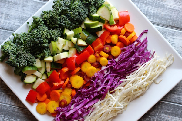 Rainbow Stir Fry 1
