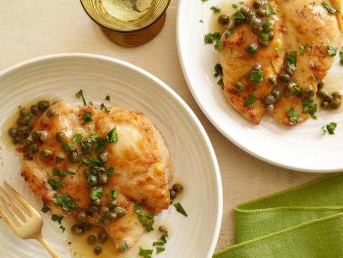 Chicken Piccata: FoodNetwork