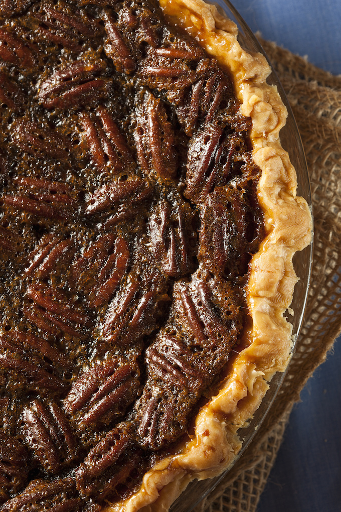 Whole-Food Pecan Pie - Gluten Free