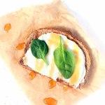 Lemon and Honey Ricotta Toast - it's just all too wonderful!