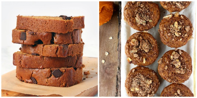 A simple One Bowl Chocolate Chip Pumpkin Bread that's easy to make, super most and hearty and perfectly sweet thanks to maple syrup and honey.