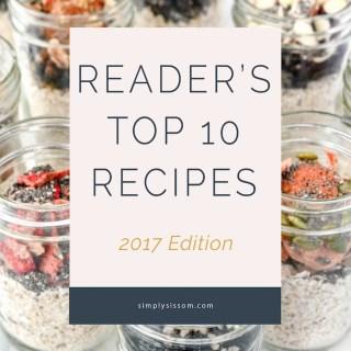 Reader's Top 10 Recipes of 2016