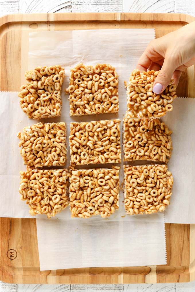5 Ingredient No Bake Cereal Bars For Kids Simply Sissom