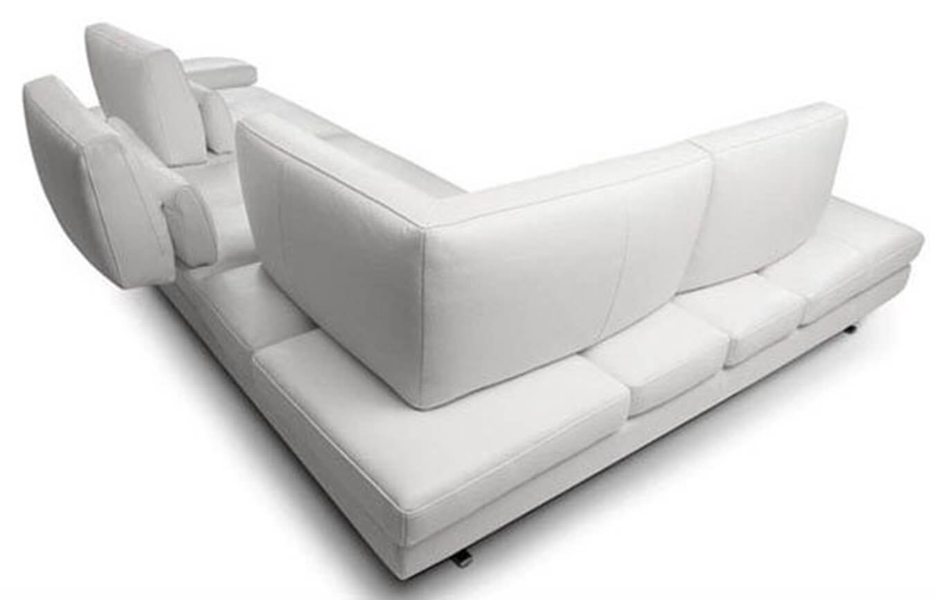 l shaped sofa designs pune all modern reviews serena white leather sectional sofas bengaluru