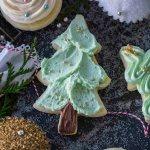 Tree iced Sugar Cookie with sprinkles