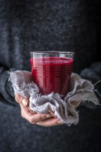 chia beet grapefruit juice