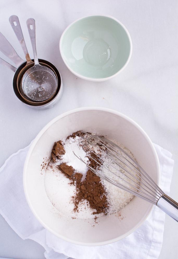 Chocolate Coconut Zucchini Bread